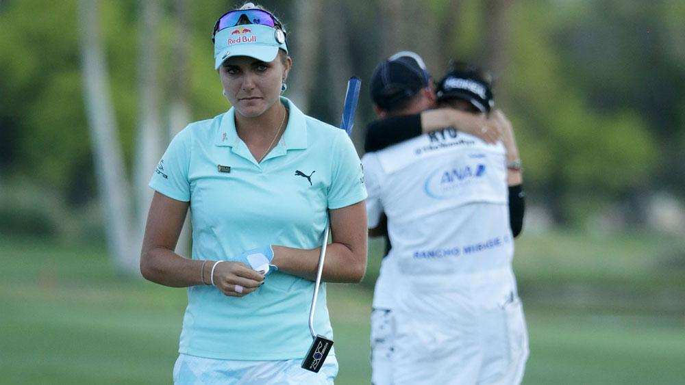 US golfer Lexi Thompson.