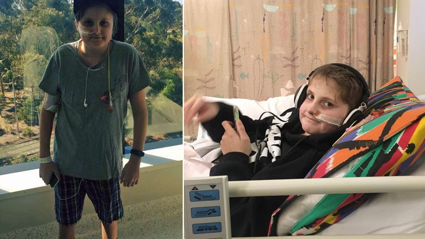 Liam was seemingly a completely healthy boy until his diagnosis last September.