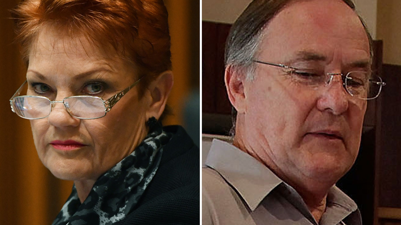 One Nation Senator Pauline Hanson has dropped legal proceedings against the ABC but proceedings against Ian Nelson are continuing. (AAP)
