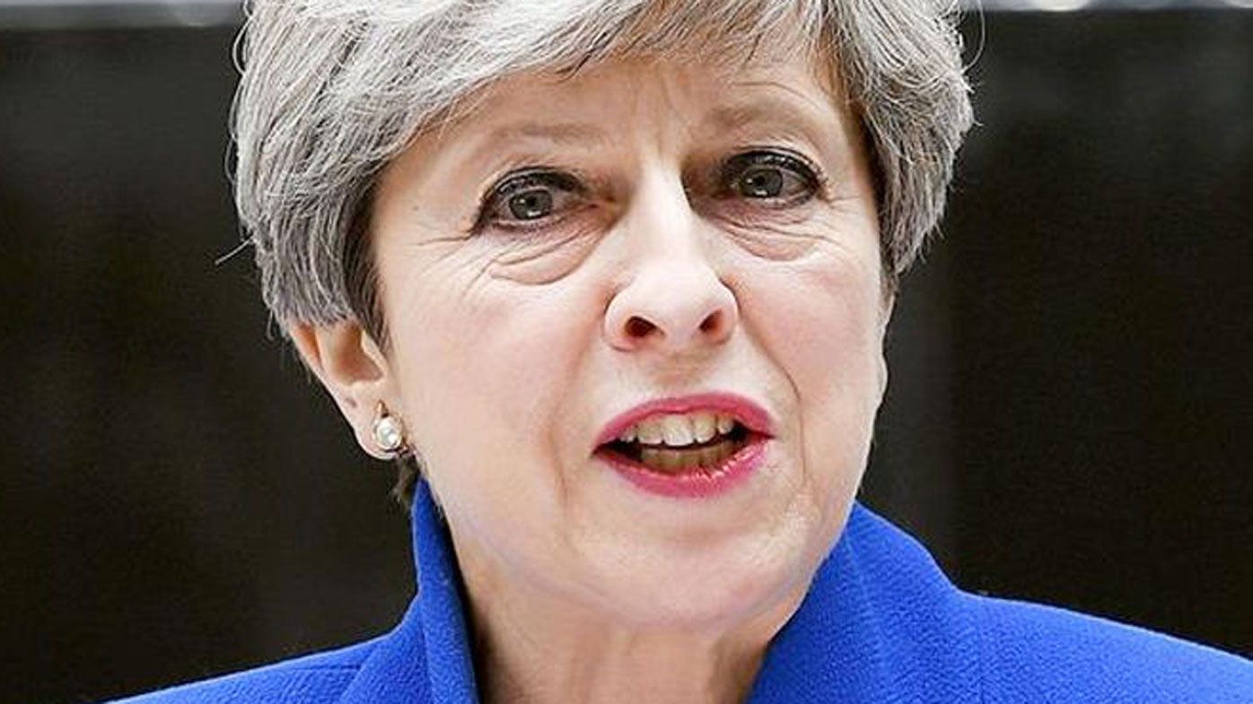 UK Prime Minister Theresa May. (AAP)
