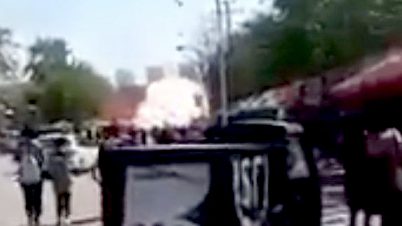 Eight people were killed and dozens more were injured in the blast.