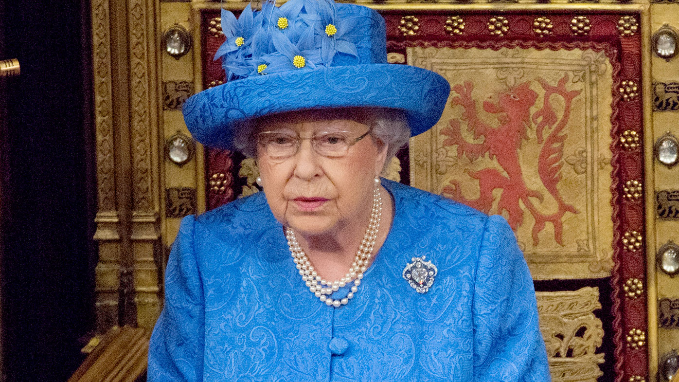 'Is the Queen trying to tell us something?': Monarch's hat sets social media afire