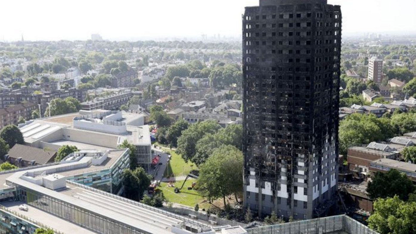 Aluminium cladding has been blamed for accelerating the blaze in London.