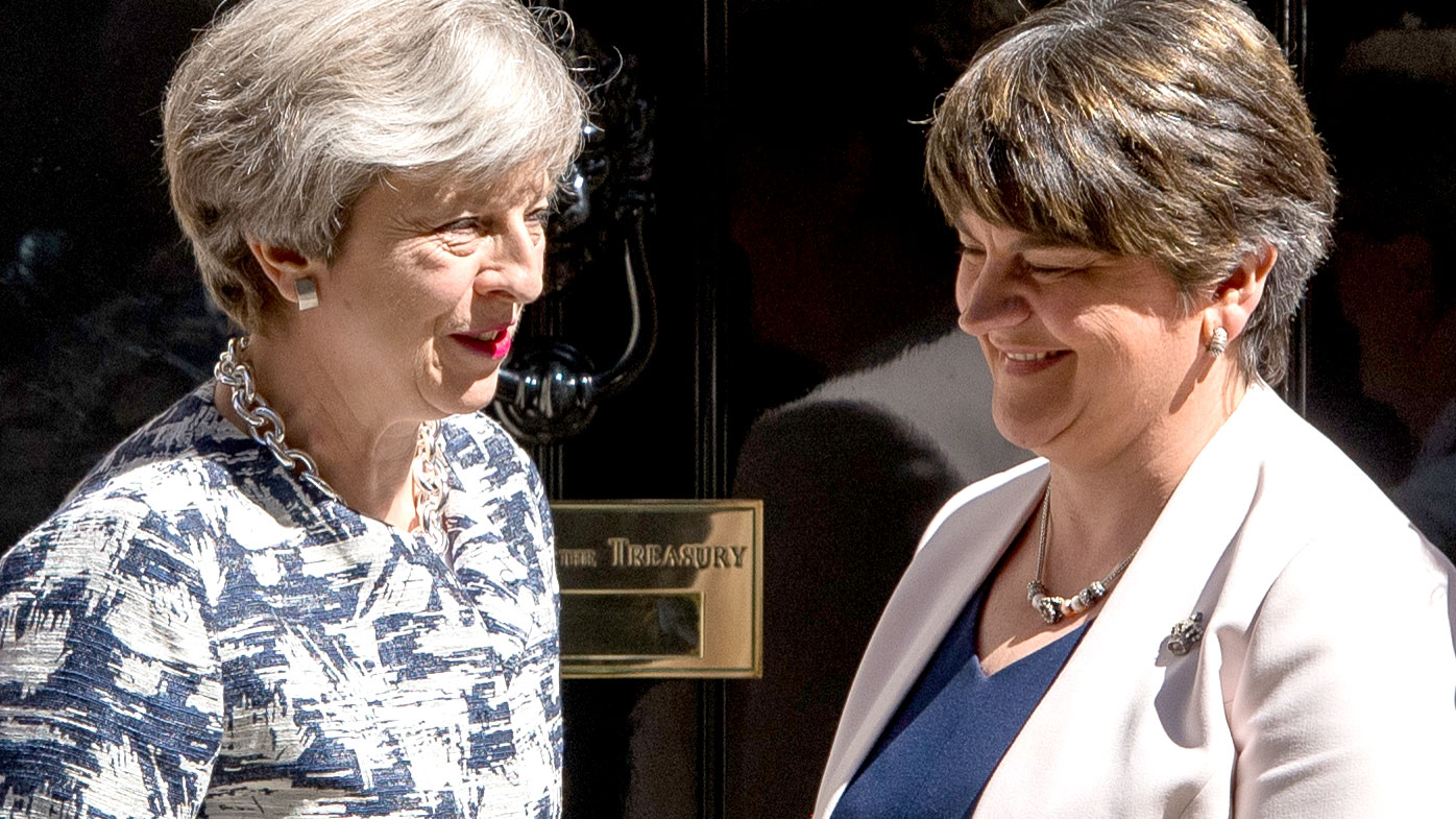 Theresa May finally strikes DUP deal to form government