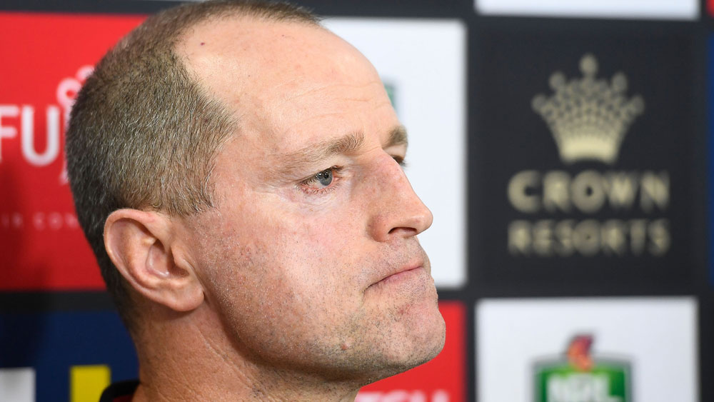 South Sydney coach Michael Maguire fumes after Rabbitohs' loss to North Queeensland