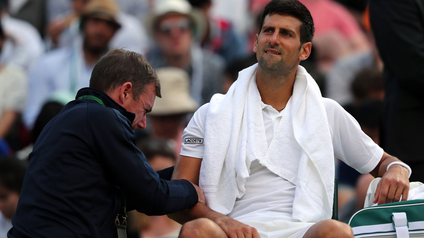 Elbow injury puts end to Serbian tennis star Novak Djokovic's season