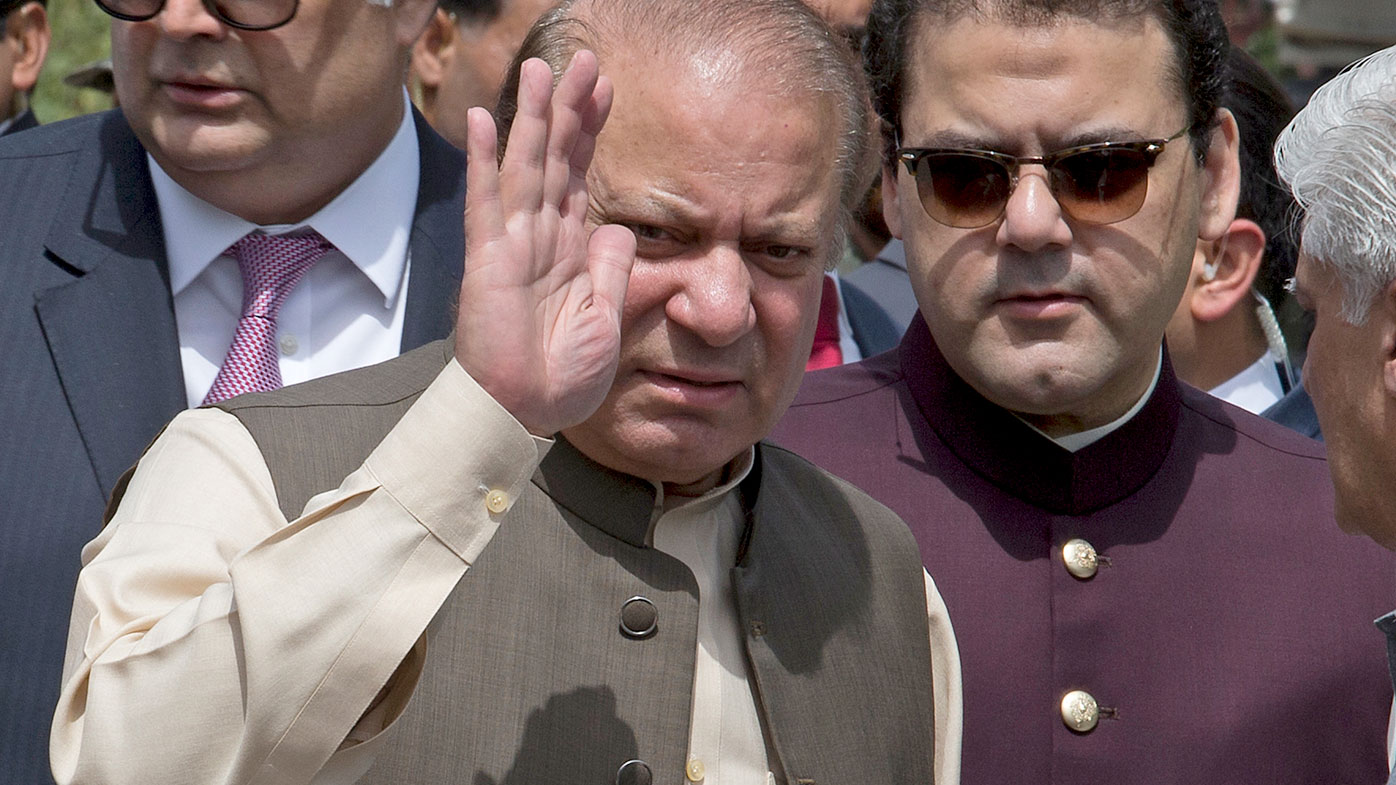 Pakistan PM Nawaz Sharif resigns