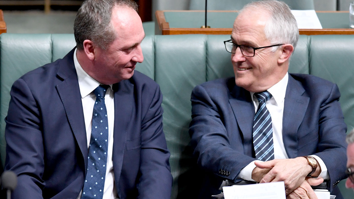 Barnaby Joyce's future rests with the High Court. (AAP)