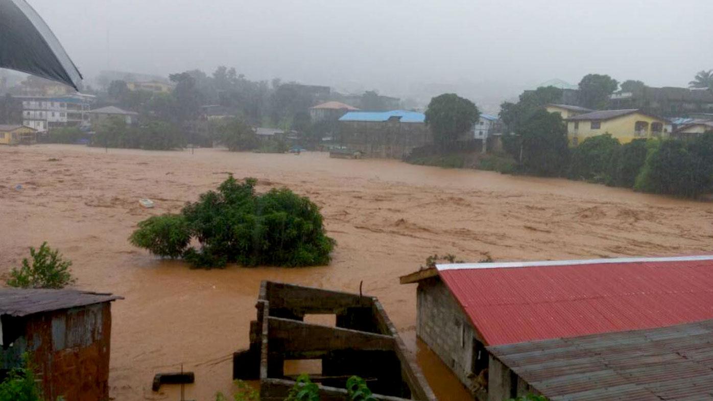 Sierra Leone floods, mudslides kill at least 21 people
