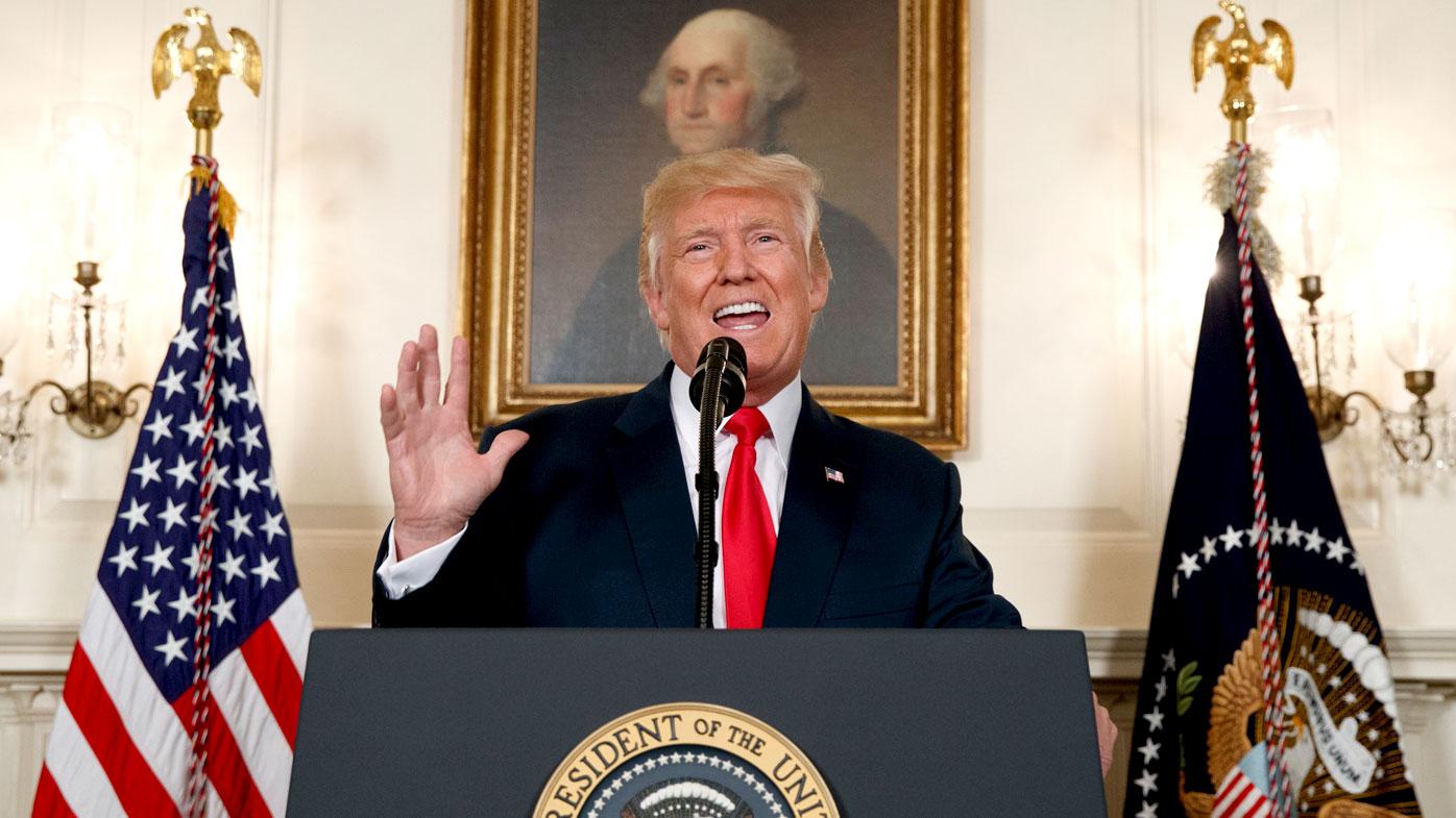 US President Donald Trump has ordered increased drone strikes against terrorist targets.