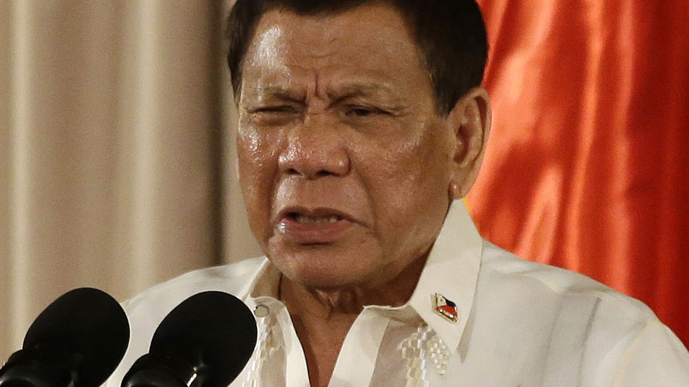 President Rodrigo Duterte has vowed to wipe out drug dealers.