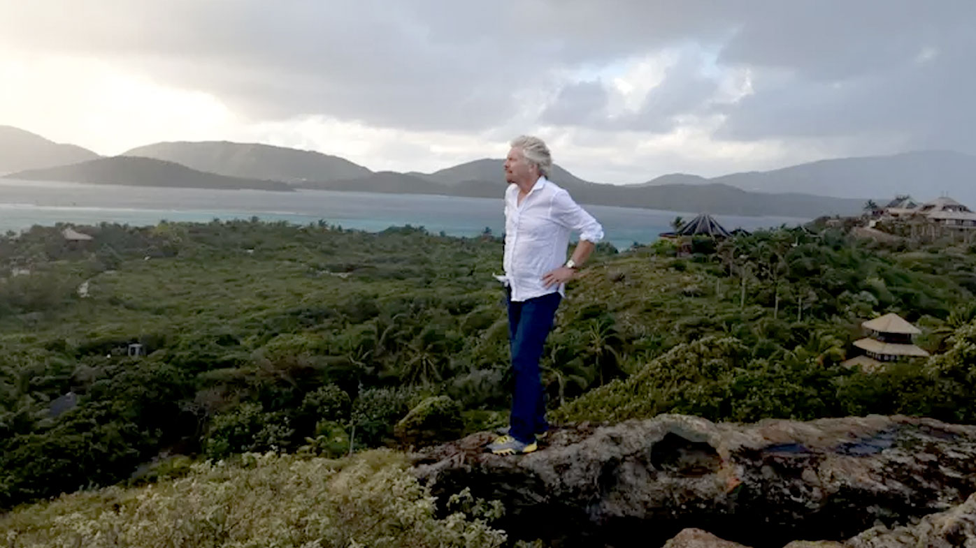 Richard Branson's Island Destroyed and Pictures Show He's Lucky to Be Alive
