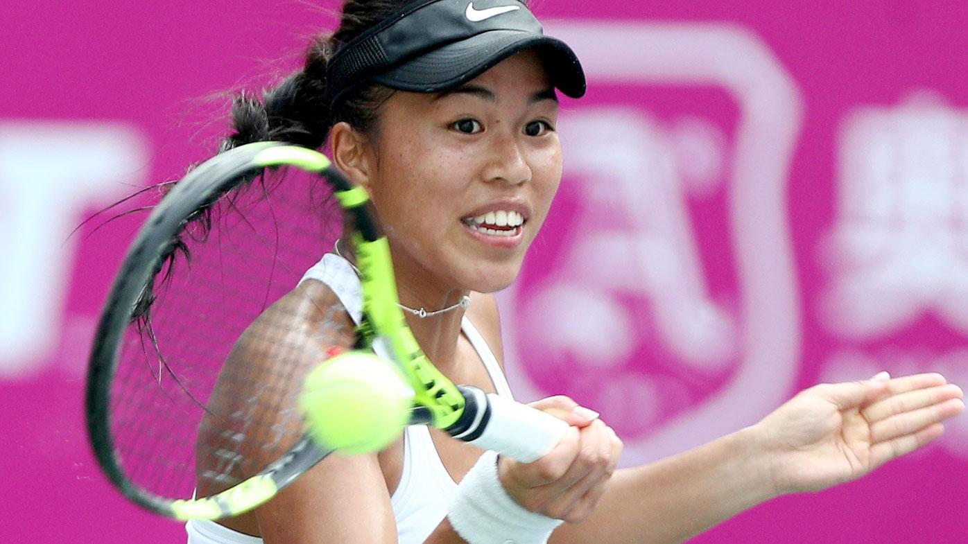 A file photograph of Australian tennis player Lizette Cabrera. (Getty)