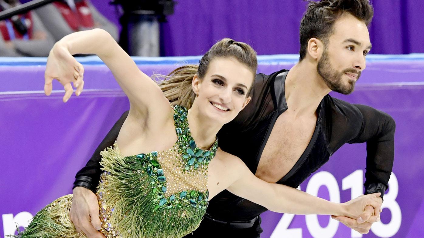 Gabriella Papadakis and Guillaume Cizeron.