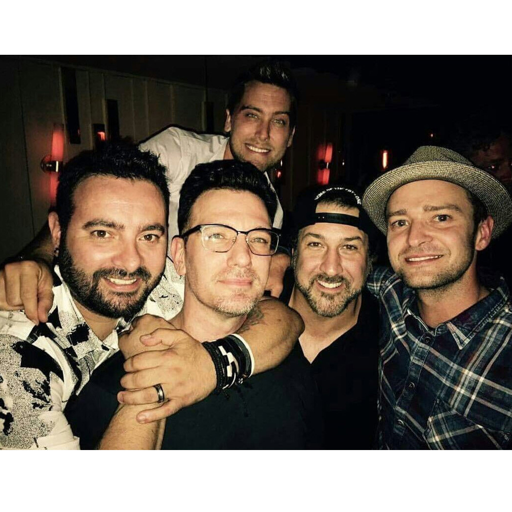 Justin Timberlake reunites with his NSYNC bandmates for JC Chasez's 40th  birthday - 9Celebrity