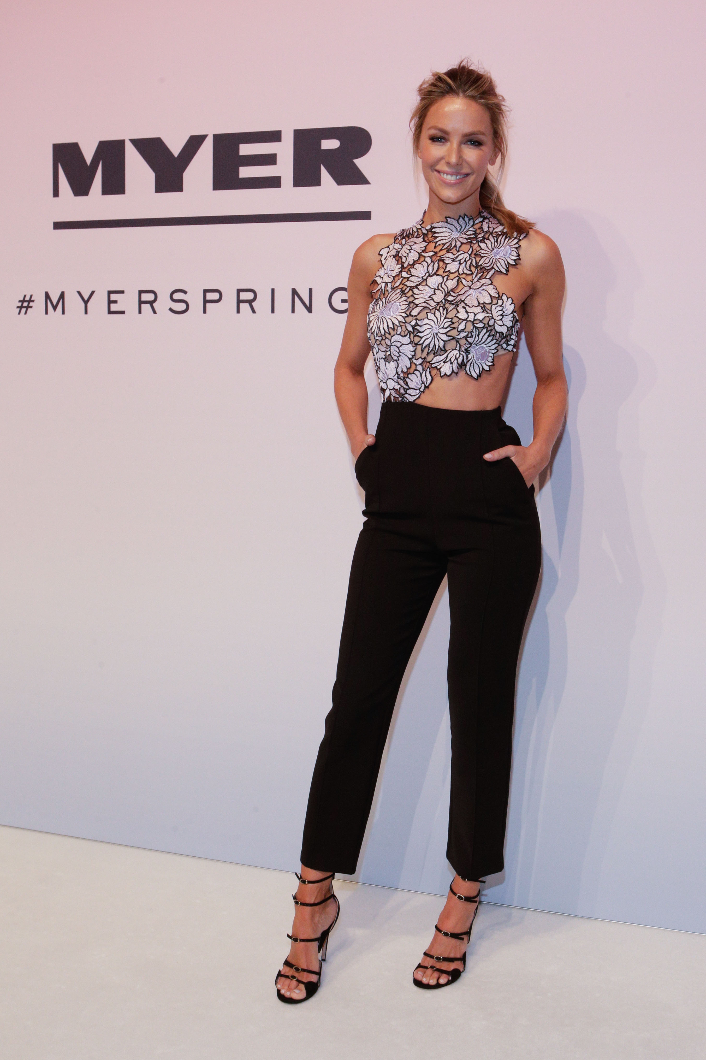 More front (row) at Myer