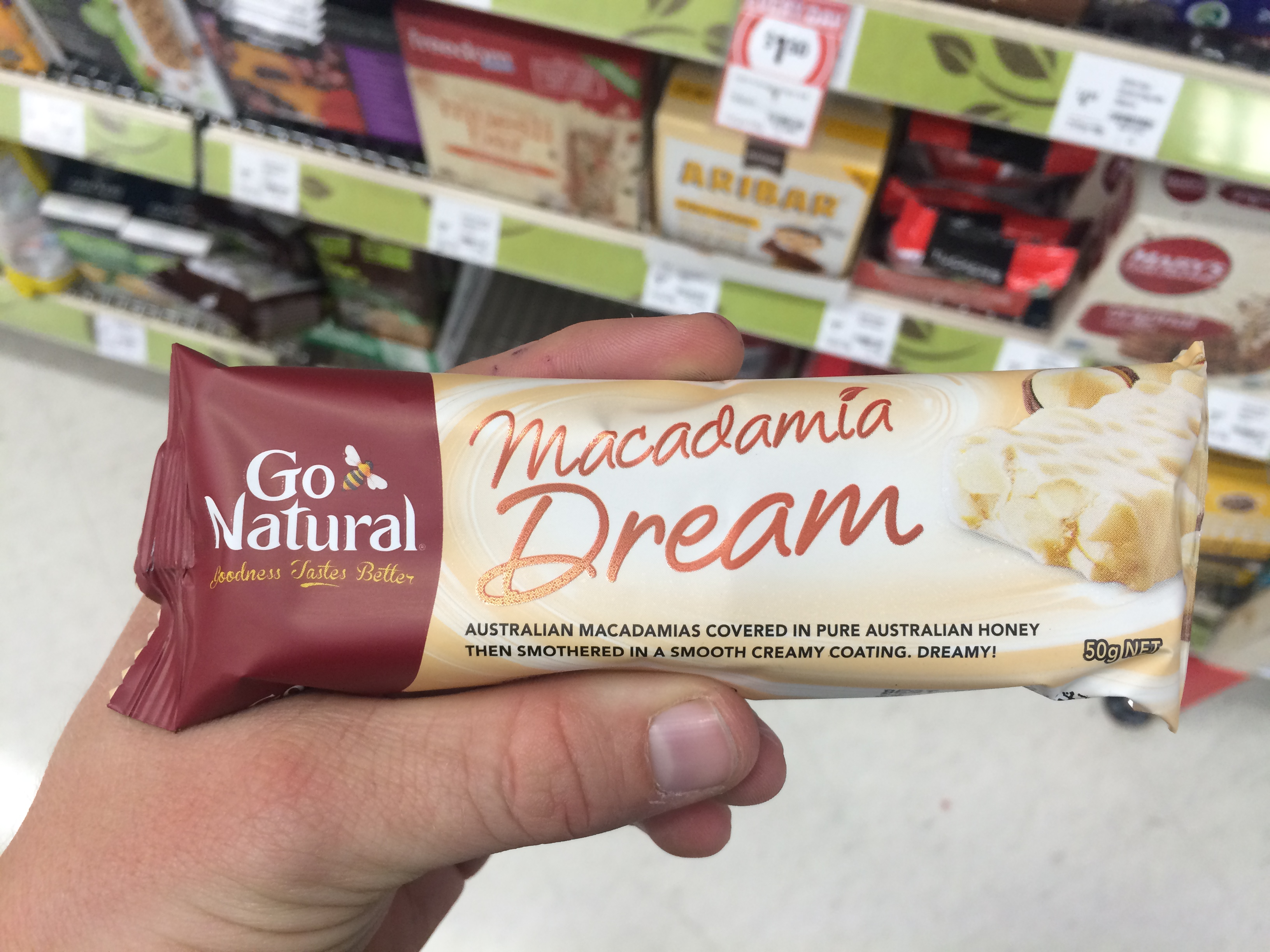 <strong>Go Natural Macadamia Dream</strong>