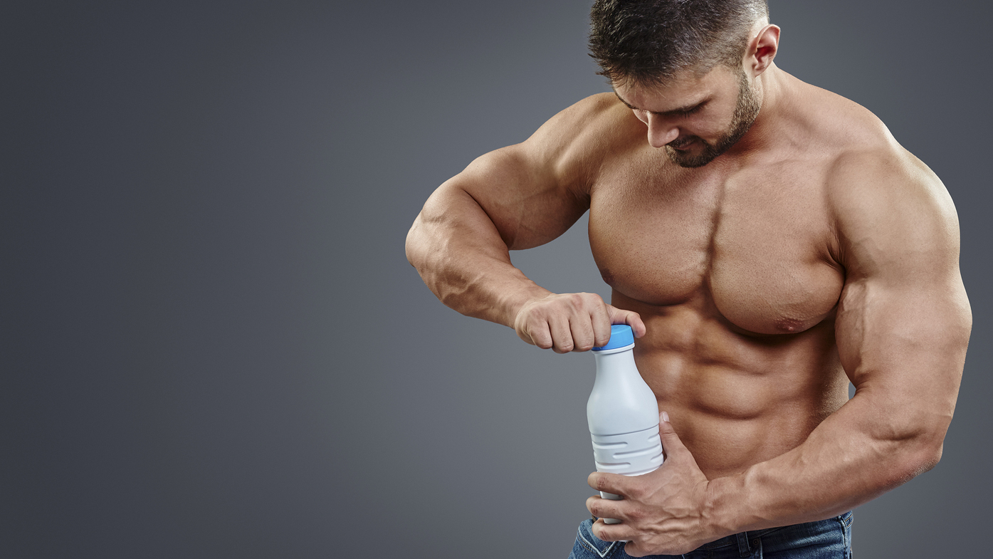 Four litres of milk a day: Does the internet's classic muscle-building tip actually work?