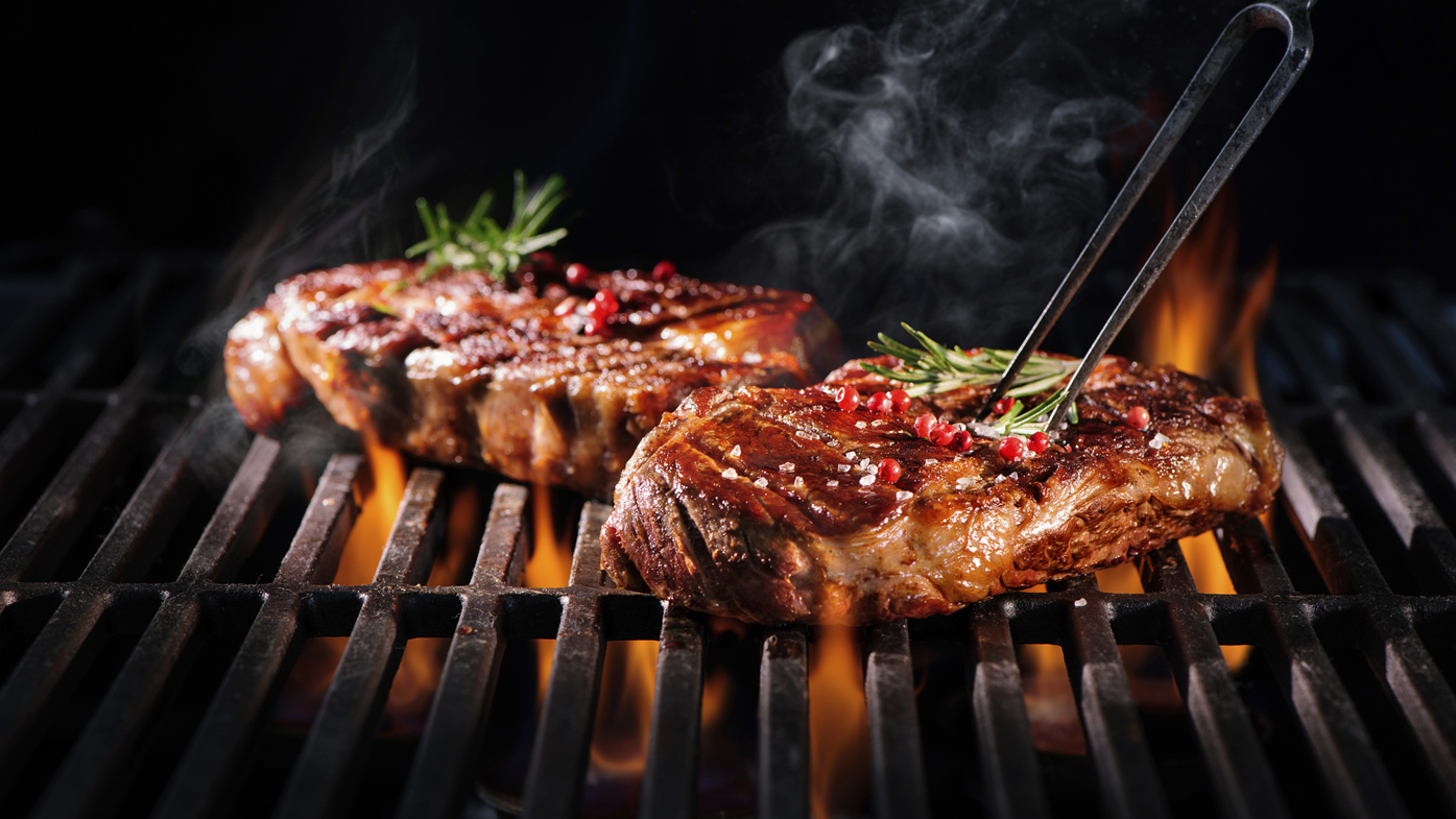 Grill or fry: What's the healthiest way to cook meat?