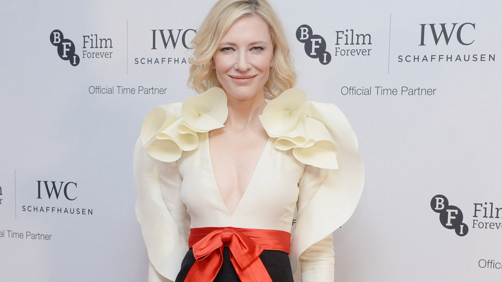 Cate Blanchett in Gucci at the dinner in honour of the BFI