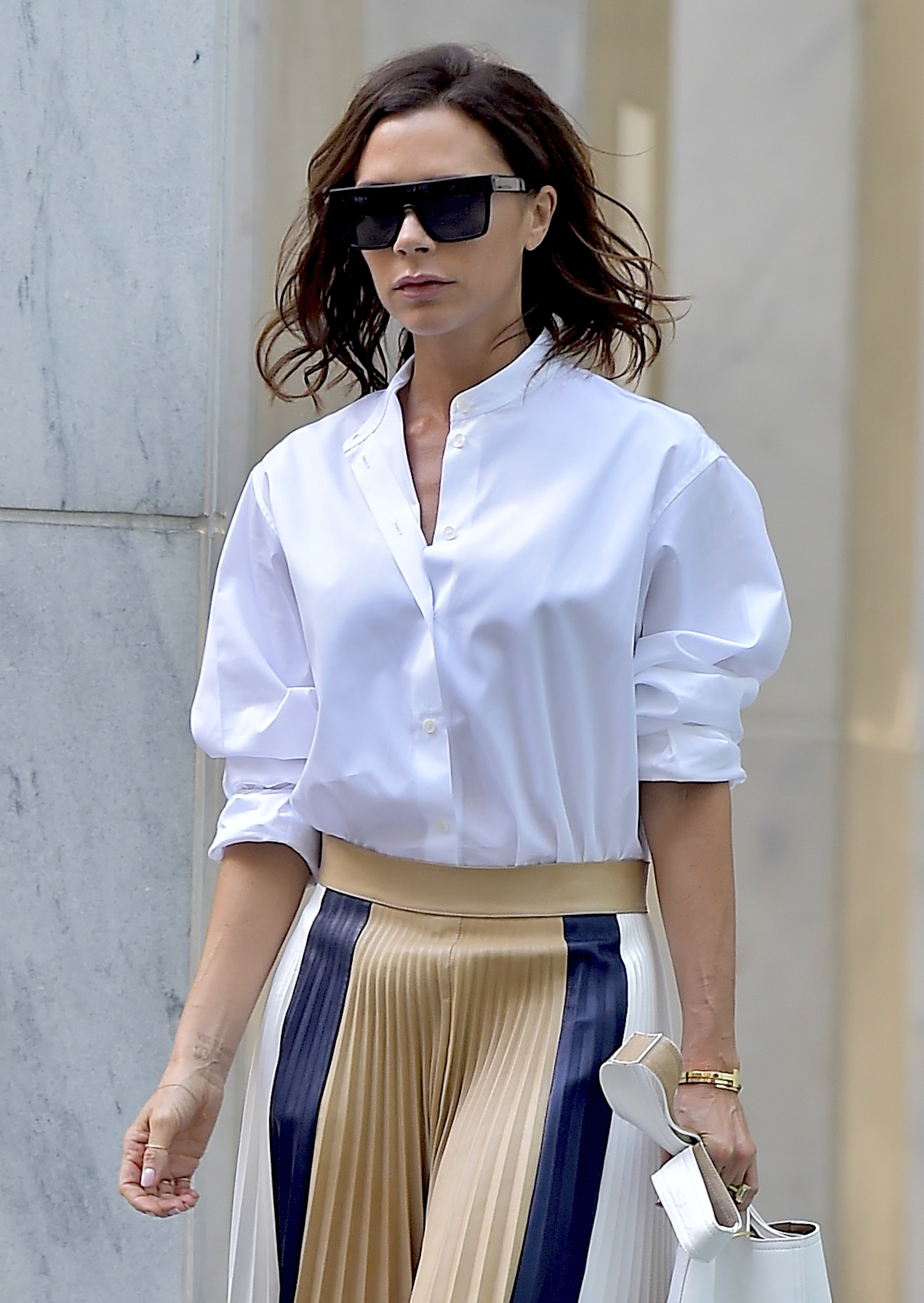 <p>What you wear to the office is equally important as how you wear it. Confidence is everything – as is a hard-working attitude, both professionally and sartorially speaking. Fashion power players Victoria Beckham, Carine Roitfeld and Olivia Palermo have carved a successful career out of looking chic, making corporate classics such as man-style shirts and midi skirts, sharply structured blazers, and classic two-piece suits – always paired with the season's It-shoe – part of their everyday style agenda. And we're taking notes. </p> <p>Here, we've pulled together the executive-chic wardrobe items to help you make your perfectly polished mark while you climb the corporate ladder – with a fashion-forward edge. Whether you're a CEO, budding entrepreneur or rising through the ranks, here's our edit of the office-appropriate essentials to help you smash the glass ceiling in style. Let's show them who's boss. </p>