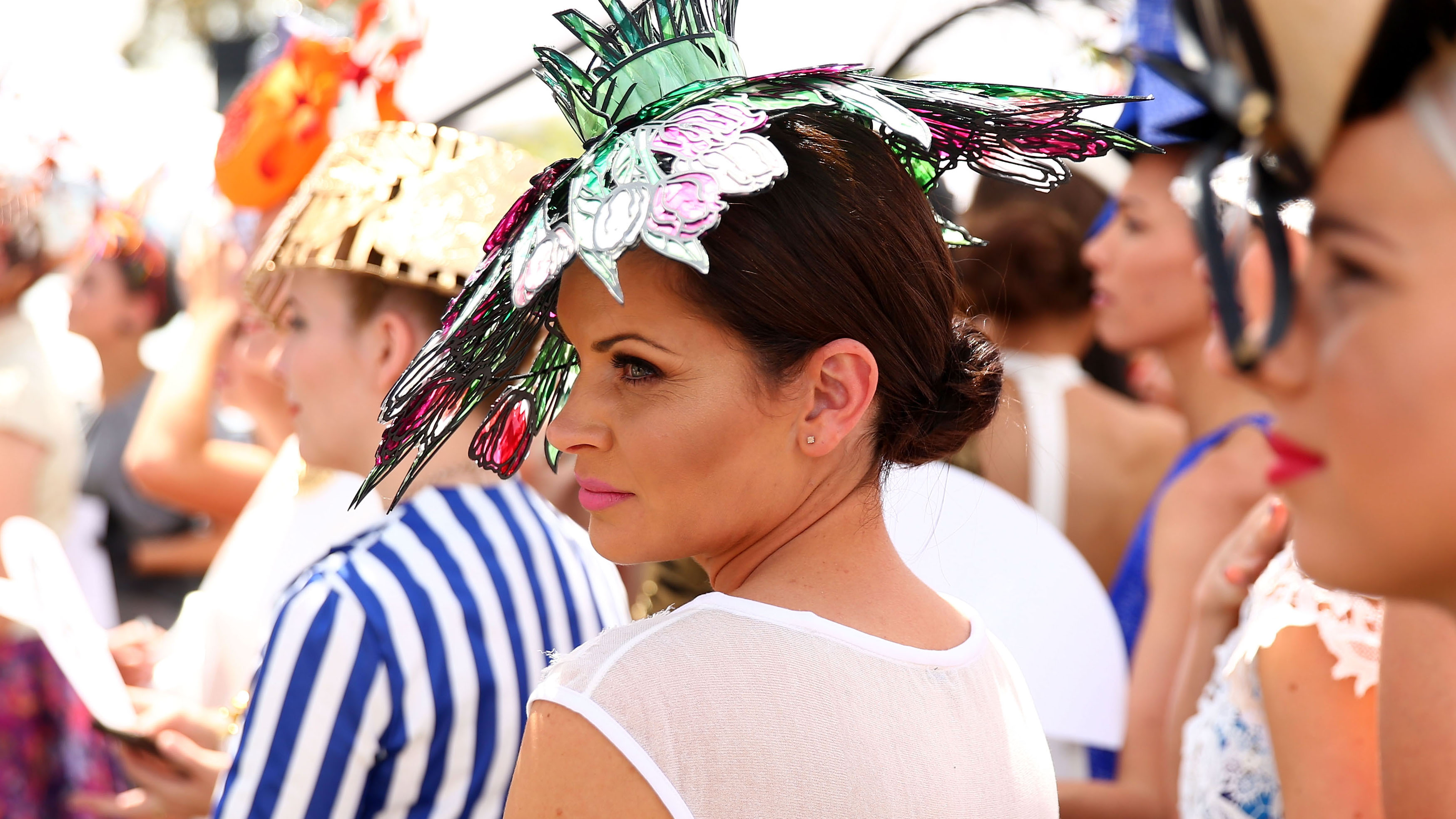 <p>And they're shopping...</p>                                     <p>Some people start organising their Melbourne Cup carnival outfits in February, ordering matching hats and shoes, and then there's you.</p>                                     <p><br />                                     Whether you've scored a last minute invitation to the Emirates marquee or have been wistfully hoping to drop a dress size by Derby Day on Saturday it's time to say 'yes' to a dress.</p>                                     <p><br />                                     We've scoured the racks to find suitable selections for winning compliments while you're winning the Cup Sweep. Of course we understand that your Prada purse is stretched to its limit at this time of year so we're thinking Champagne taste on a beer budget of under $500.</p>                                     <p>                                     Just add a hat (shoes and underwear too) and you're ready to go.<br />                                     <br />                                     </p>
