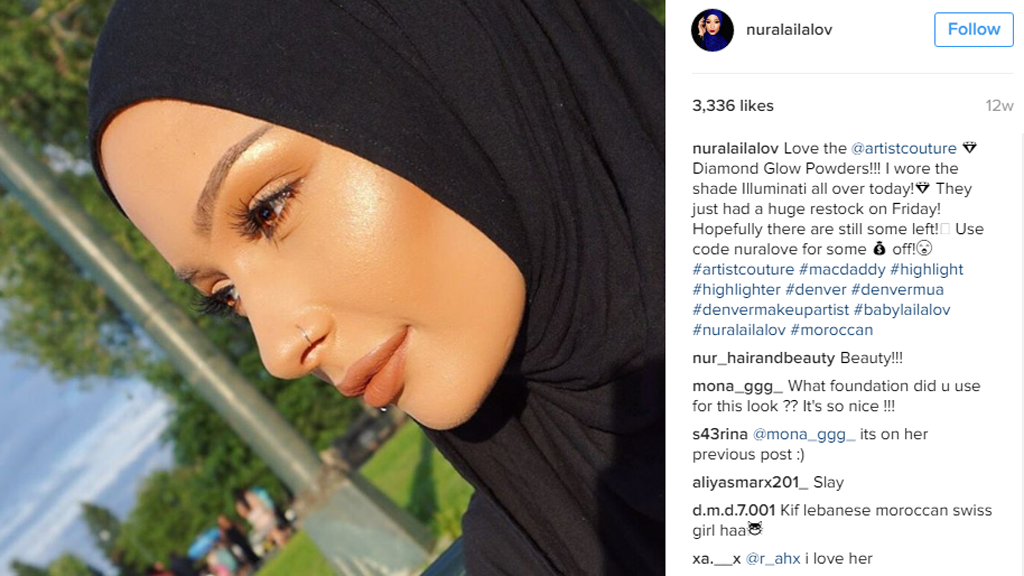 For 1st Time, CoverGirl Ads Feature Woman Wearing a Hijab