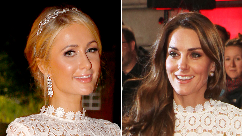 The Duchess of Cambridge steals Paris Hilton's look