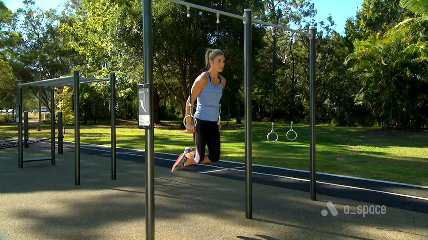 Outdoor gym workout: the best exercises to do for free