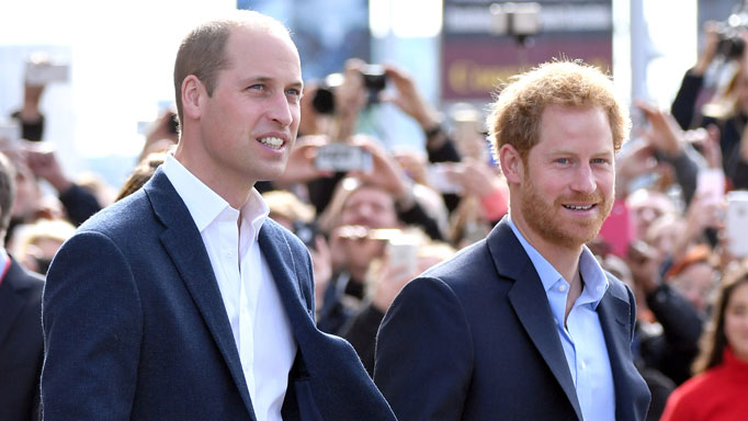 Image result for princes harry and william