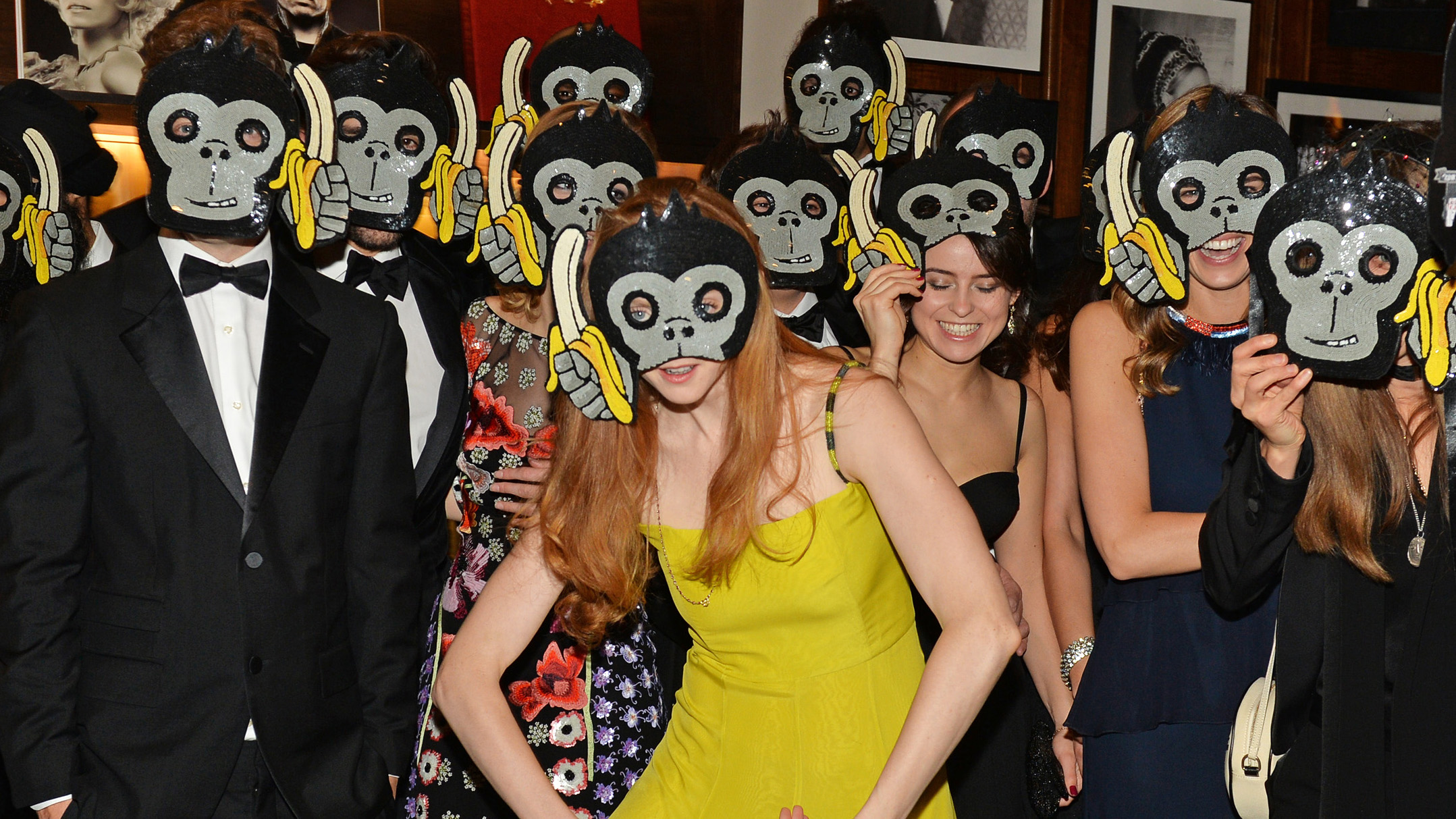 <p>The animals have escaped from the zoo and taken over the runways with four-legged, two-legged and some eight-legged friends about to crawl into your closet.</p>                                                                 <p>At the Animal Ball in London this week model Lily Cole settled for a gorilla mask with her friends but it's time to make a pet of your purses, pullovers and dresses.</p>                                                                 <p>Ease your way in with animal print or go barking mad with a dog bag. Enter our animal shelter now.</p>