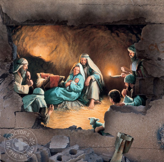 UK charity blends nativity scenes with photos