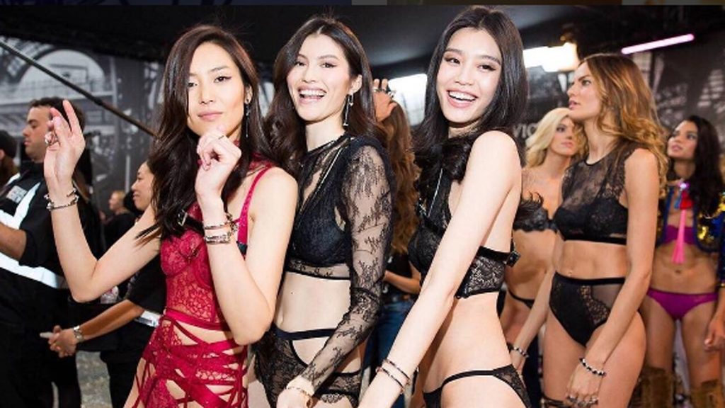 This 2016 VS Fashion Show was the most diverse in history. Image: Instagram/@hesui923