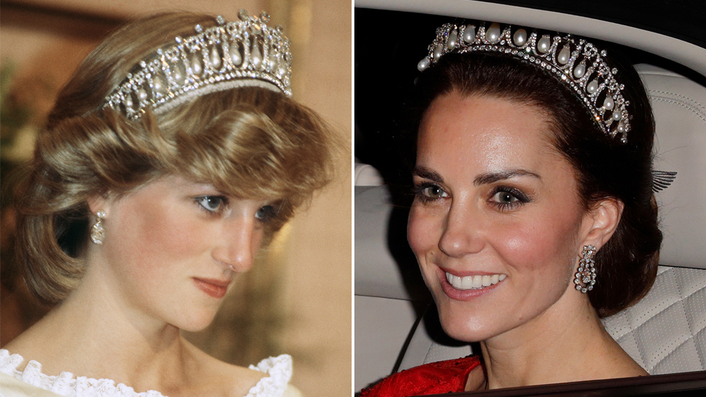 Princess Kate stuns in Diana's beautiful jewels