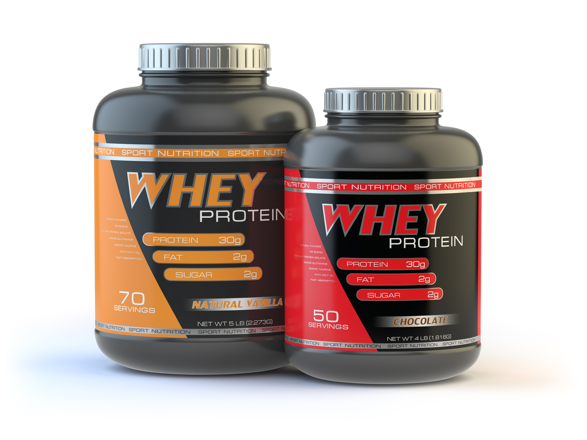 <strong>Swap post-workout whey protein for...</strong>