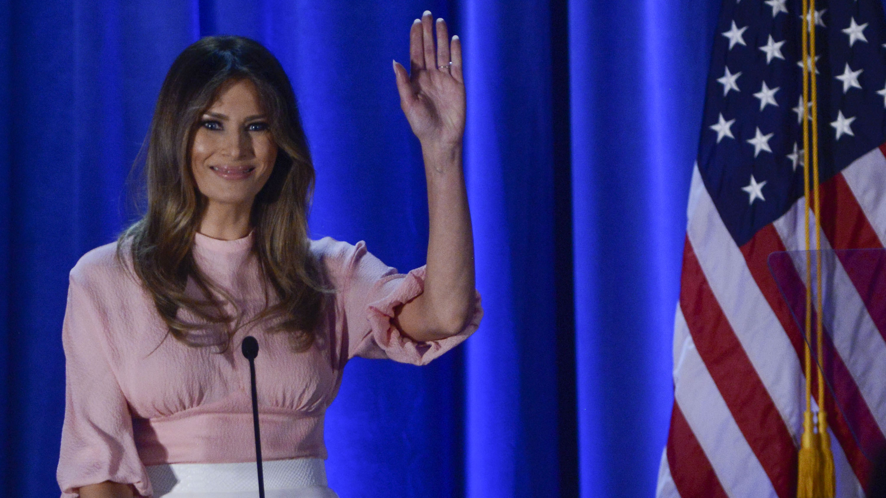 Calvin Klein would dress Melania Trump