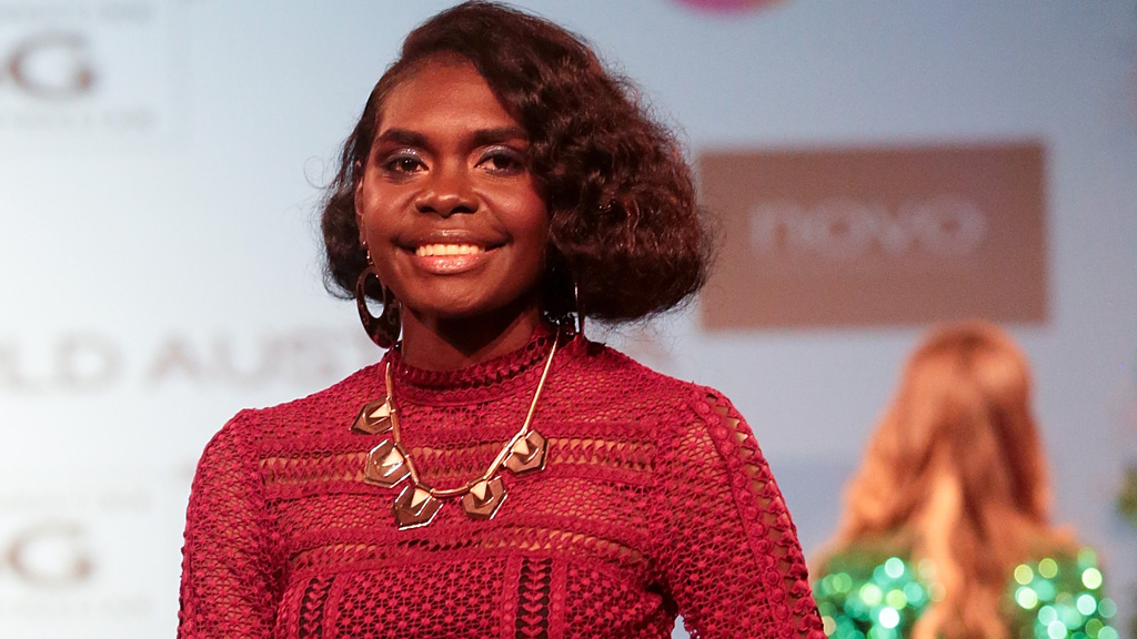Magnolia Maymuru - just 20 and already on her way to world class modelling. Image: Getty.