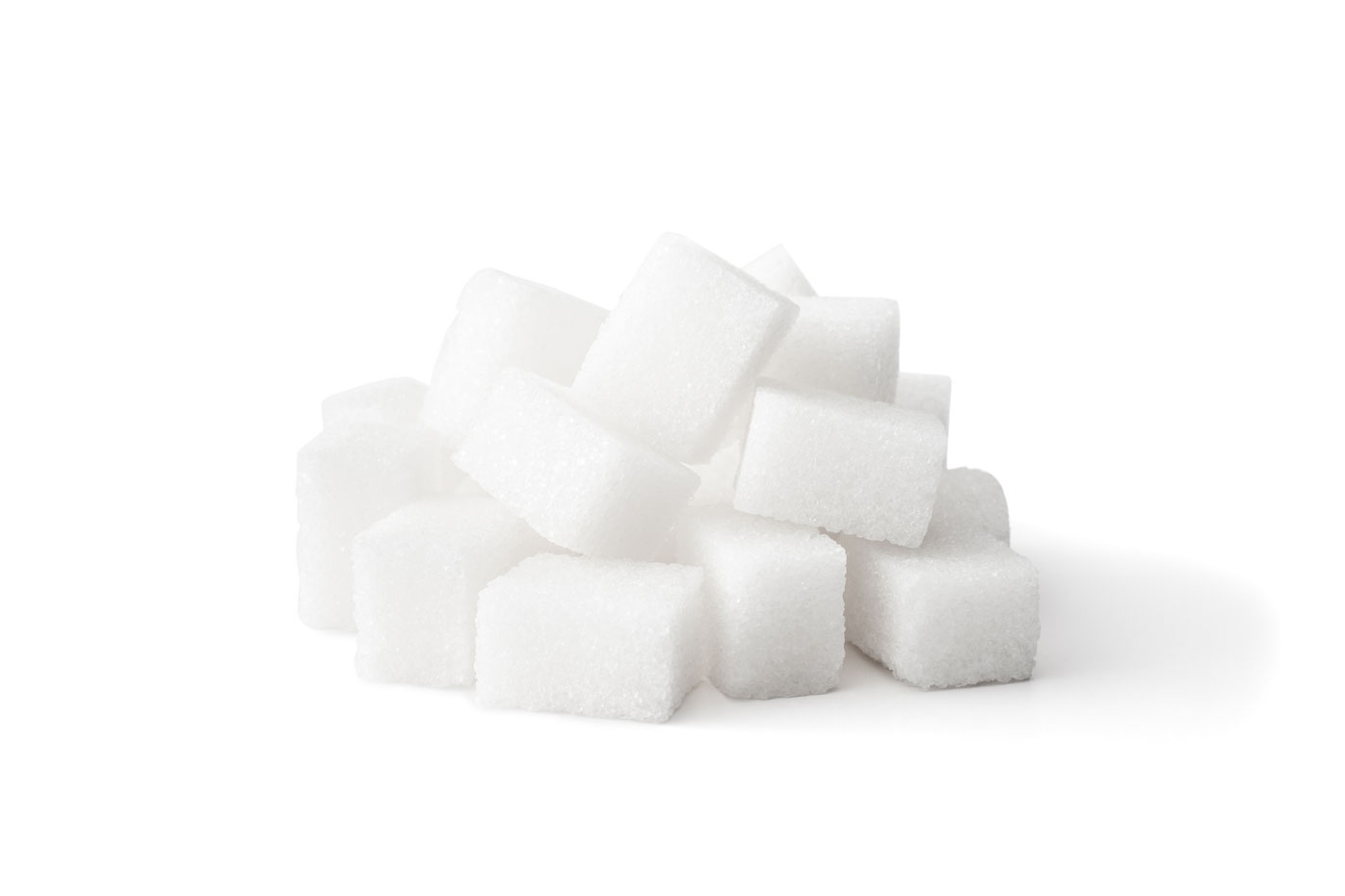 You eat too much refined sugar