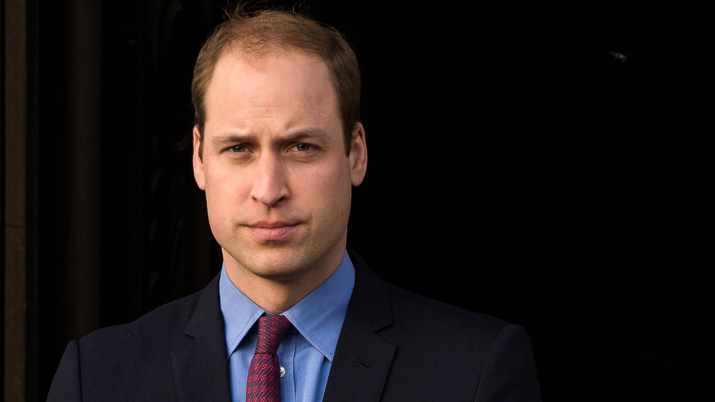 Prince William third in line to the throne