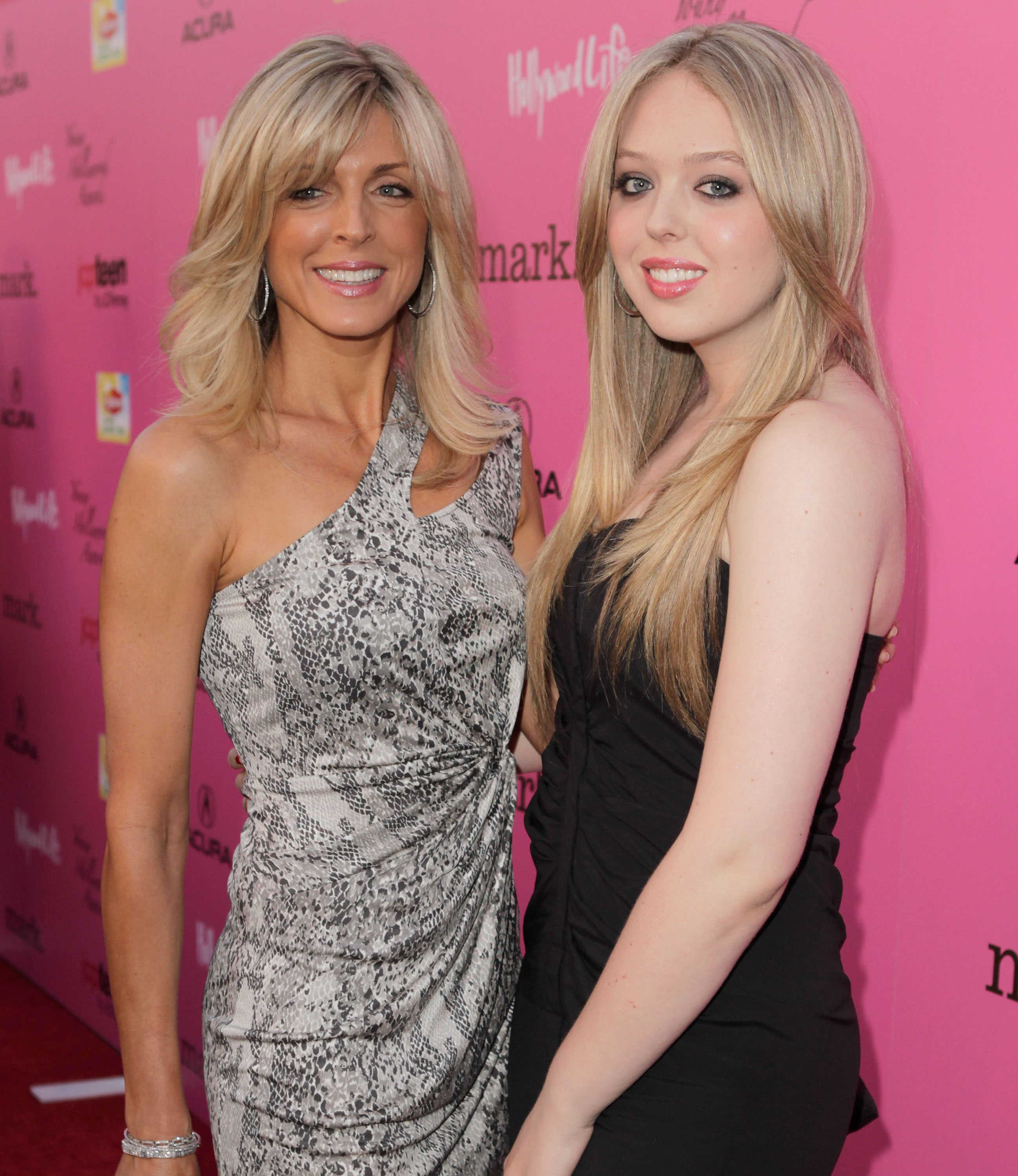 Marla Maples and daughter Tiffany Trump are said to have asked a stylist to do their hair for free. Image: Getty.