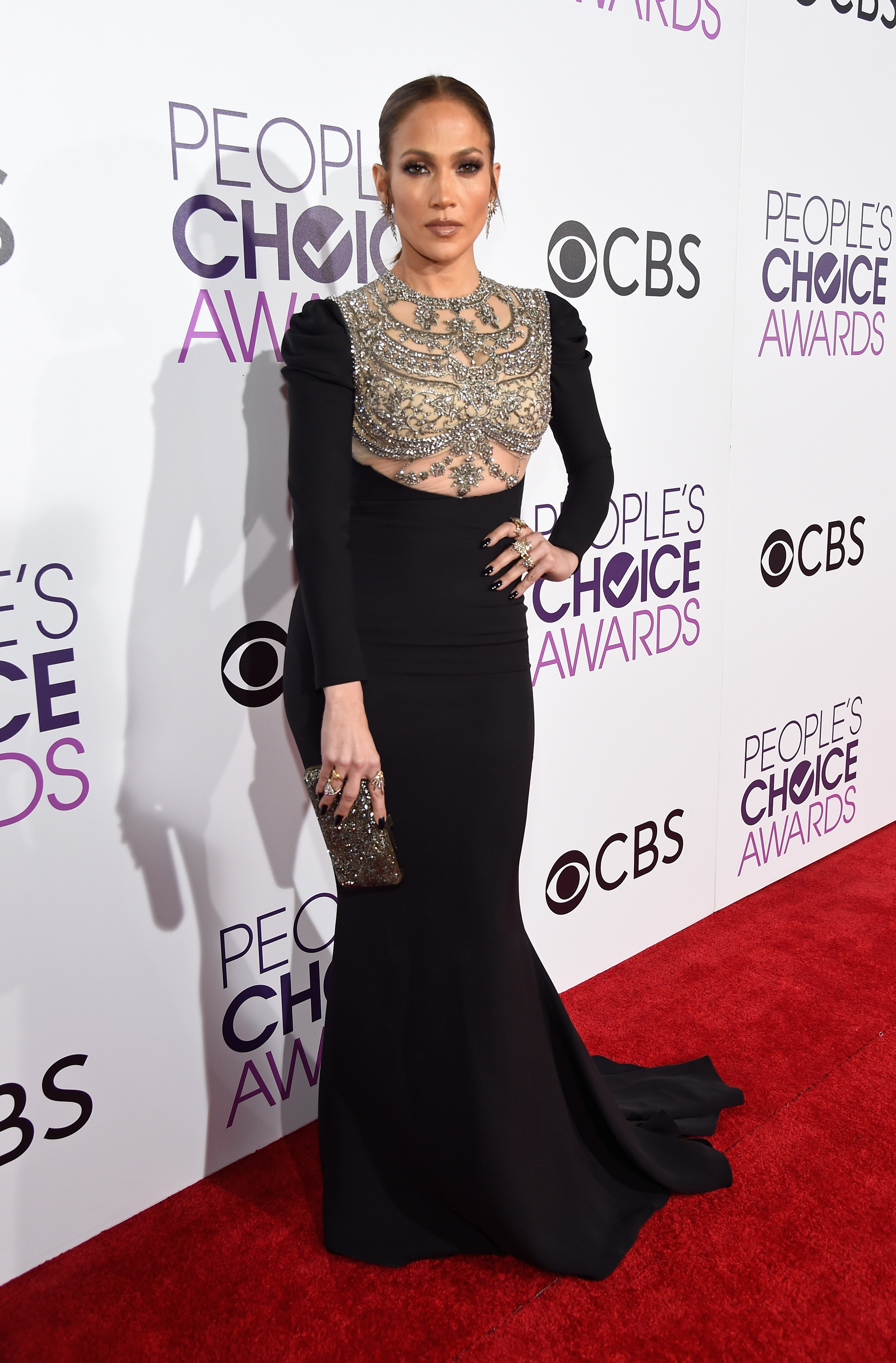 <p>The People's Choice Awards, the awards where we get to choose the winners, has rolled into town and in a major way.</p> <p>All the A-list stars from the big and small screens and the music world too attended the event sweeping down the red carpet beforehand wearing everything from elaborate formal gowns to fringed minis.</p> <p>The standout of the event was Jennifer Lopez (who was spotted snapping selfies with actor Wilmer Valderrama) who was absolutely breath-taking in a fitted Reem Acra gown with a heavily beaded bodice and jewellery by H.Stern.</p> <p>But J-Lo wasn't the only celebrity who caused the crowd to collectively swoon. Click through for pictures of the stars who won the day – and those who didn't quite there.</p> <p>Image: Getty.</p>