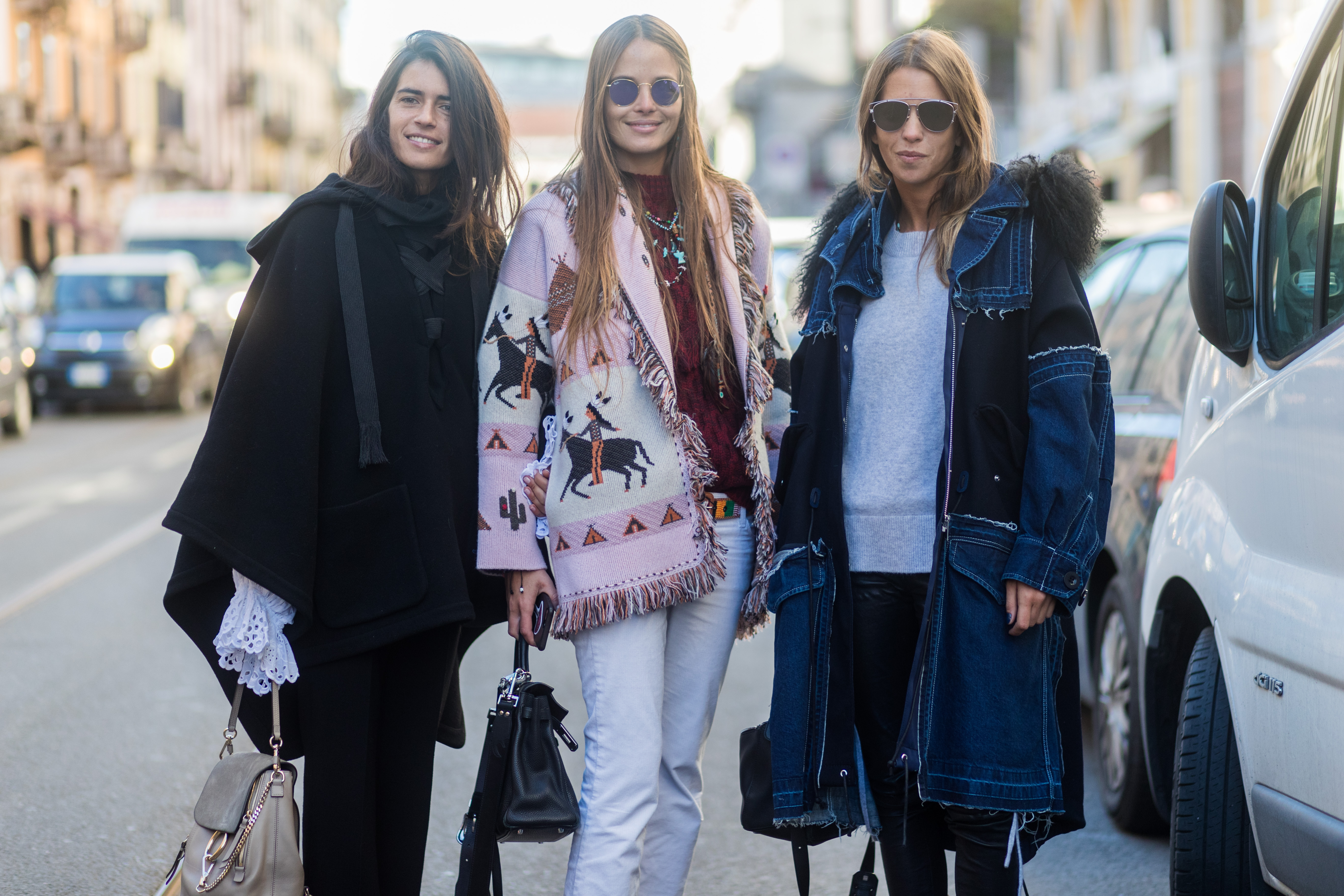<p>Men's Fashion Week in Milan brought some surprises - and they were awesome ones.</p> <p>Dolce & Gabbana's use of social media stars and celebrity offspring instead of professional models gave the show a buzz that it may not have had otherwise. Plus, the overall use of more models of colour was a welcome and long-overdue switch up, which made the week feel vibrant and fresh.</p> <p>Speaking of, the street style also felt distinctly modern with bright colours, snappy accessories and cool hats mixed and matched in innovative, interesting ways. And while the runway is where it happens - what the fashion crowd wears is often a better indication of upcoming trends.</p> <p>Click through and see the styles that we'll all be wearing when the mercury drops.</p> <p>Image: Getty.</p>