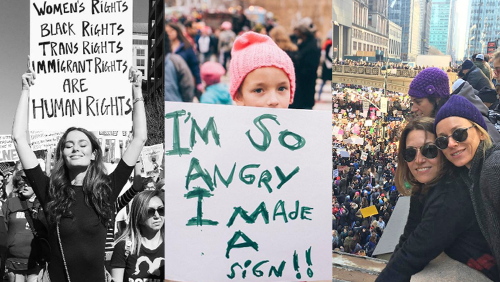 Women's March: Naomi Watts, Lisa Wilkinson, and more Australian celebs support the protests