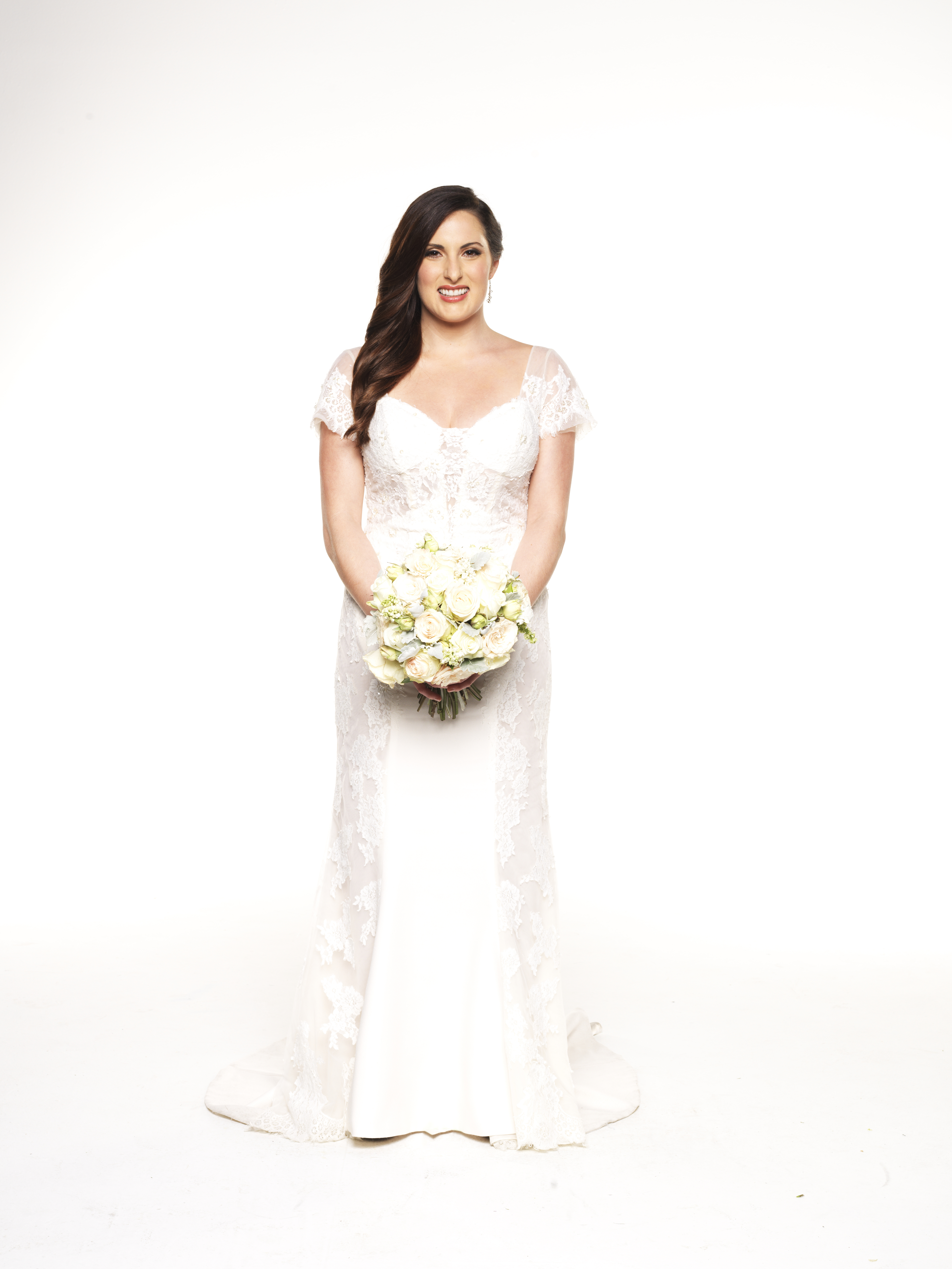 Wedding dress style on Married At First Sight   9Style