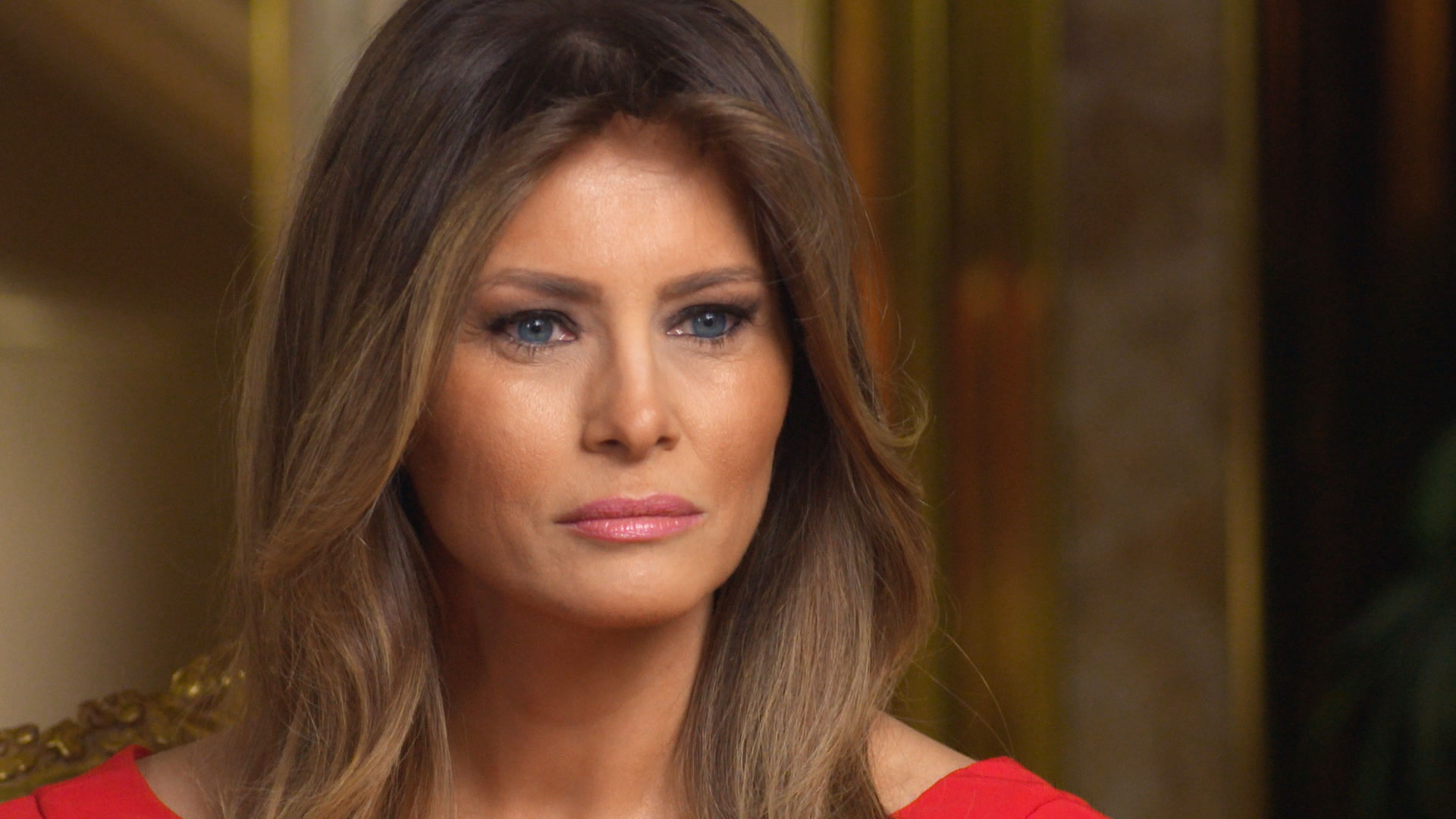 Melania Trump spotted for first time since inauguration ...