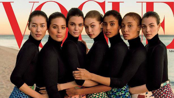Vogue cover with Ashley Graham and Gigi Hadid embraces diversity
