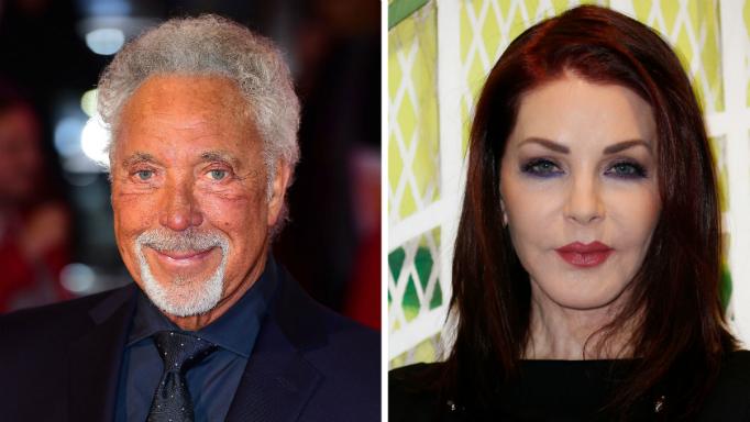Rumours of romance between Tom Jones and Priscilla Presley continue to buzz.