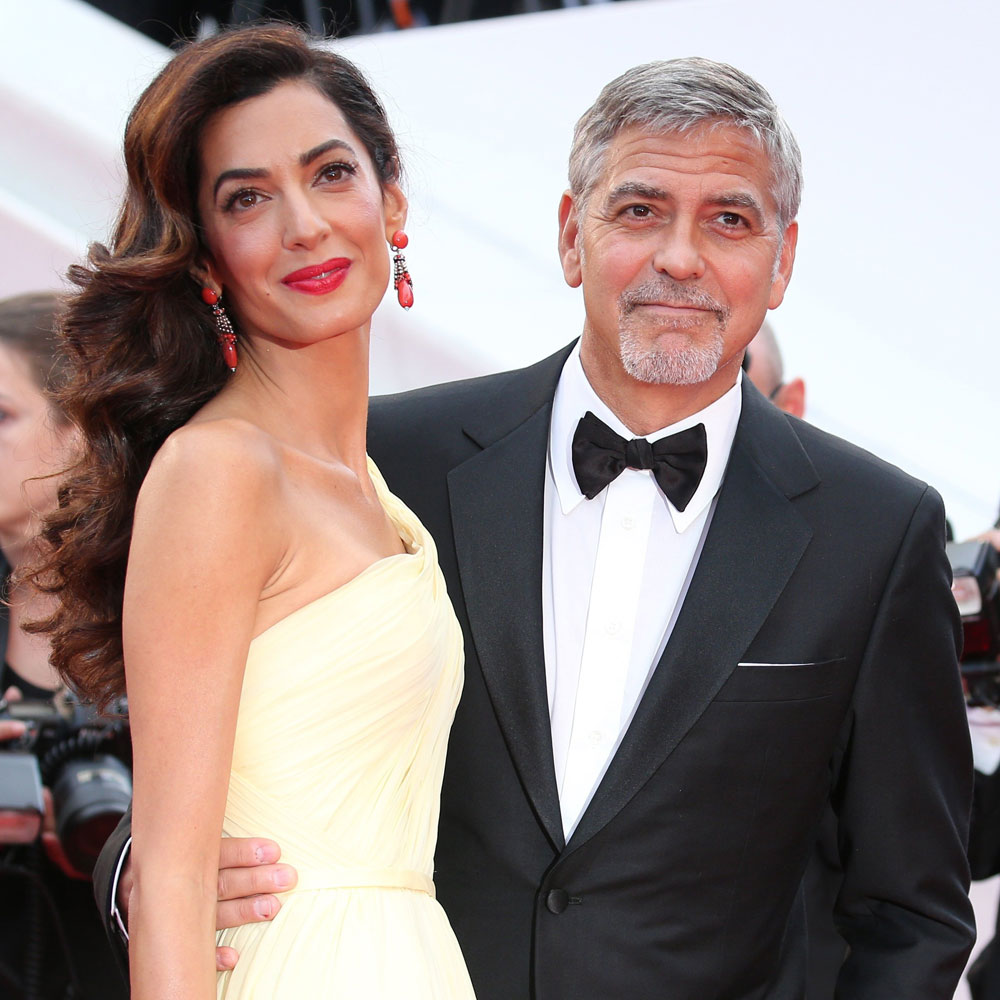 George and Amal Clooney are expecting a boy and a girl, his mum confirms