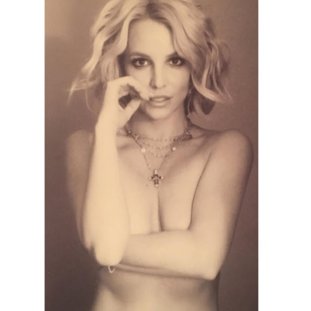 Britney Spears drops topless shot on Instagram after biopic backlash