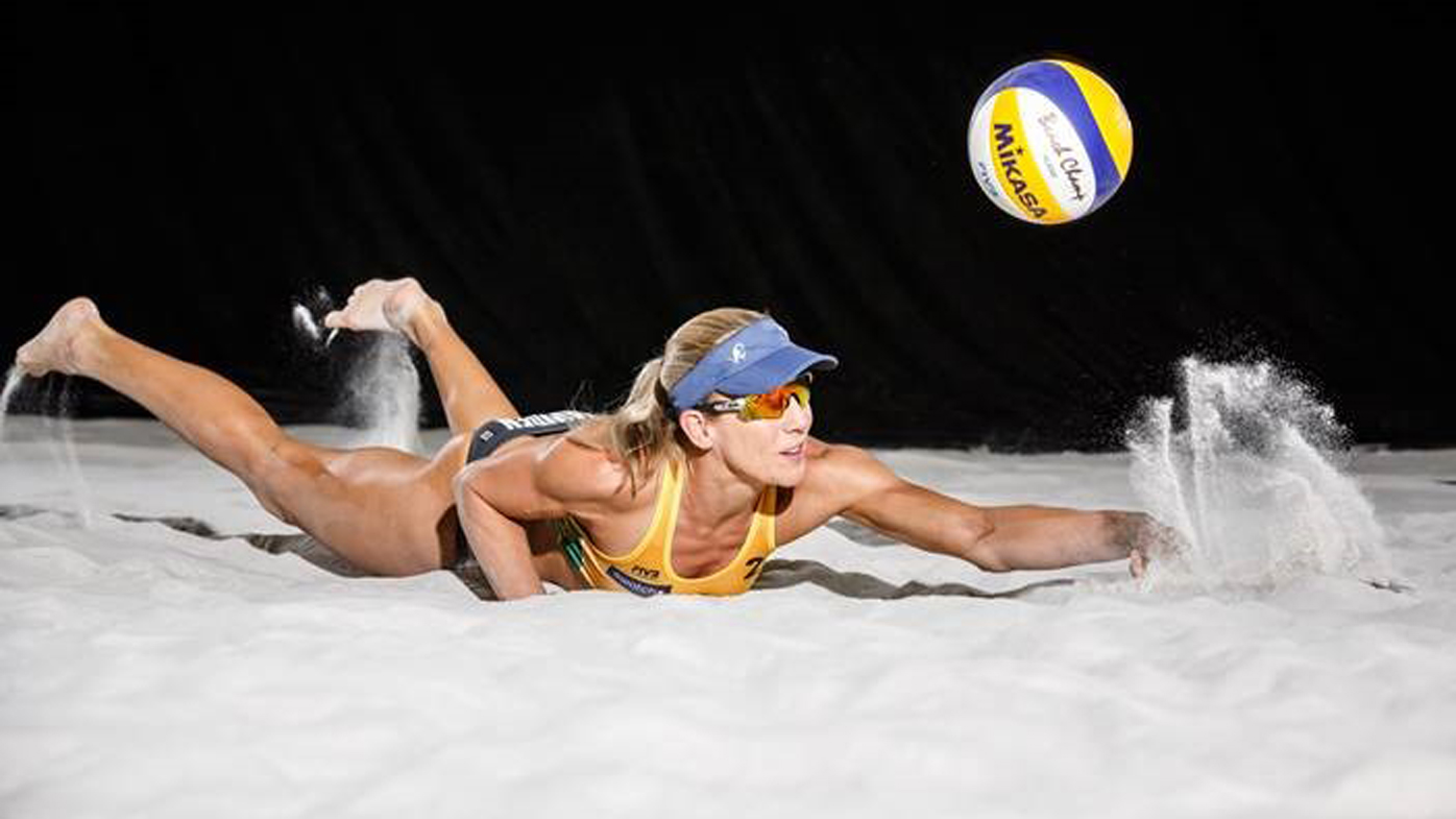 How to train like an Olympic beach volleyball player